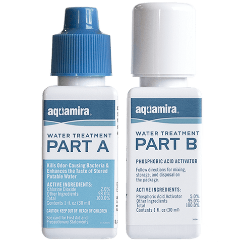 Water Treatment Kit, Aquamira Drops - Water & Rations - Life Support International, Inc.