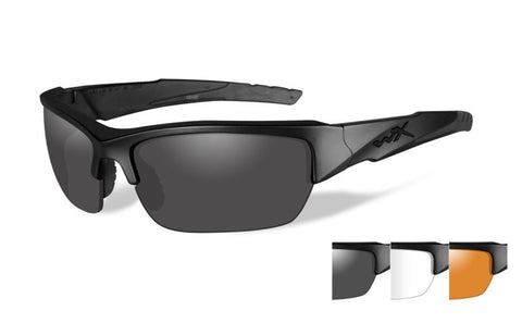 WX VALOR - Matte Black with Three Lens Set - Accessories - Life Support International, Inc.