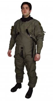Tactical Aircrew Dry Suit System, MSF300 - Anti-Exposure Suits - Life Support International, Inc.