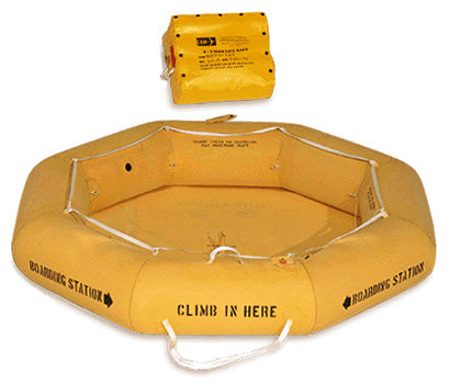 Life Raft (EAM 2) ,  Non-FAA Approved, Single Tube - Life Rafts - Life Support International, Inc.