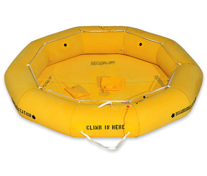 Life Raft (EAM-8), Non-FAA Approved, Single Tube - Life Rafts - Life Support International, Inc.