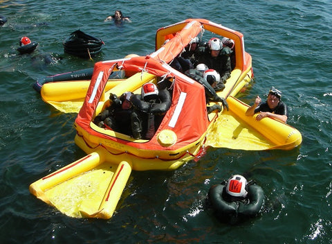 Life Raft, 8 Man MPLR - Life Rafts - Life Support International, Inc.