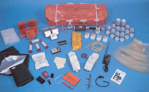 Survival Kit, 20-Man Life Raft, USAF - Survival Kits - Life Support International, Inc.