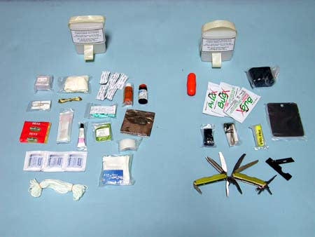 Survival Kit, Aircrew, Tropical Climates - Survival Kits - Life Support International, Inc.