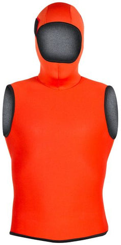 Hooded Vest, FIRE FLEECE™, SAR Swimmer, 5/3 mm - Dive Rescue Swimmer - Life Support International, Inc.