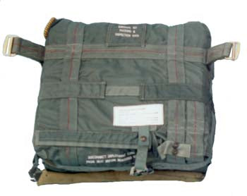 ACES II Survival Kit Container - Ejection Chutes - Life Support International, Inc.