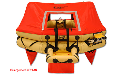 Life Raft (T4AS), FAA Type I, 4-Man - Life Rafts - Life Support International, Inc.