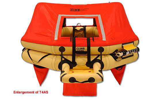 Life Raft (T4AS), FAA Type I, 4-Man | Life Support