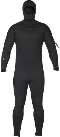 Jumpsuit, Hood Attached Semi-Dry, Special Ops/SAR - Dive Rescue Swimmer - Life Support International, Inc.