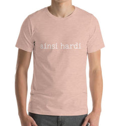 Ainsi Hardi Men's T-shirt - Men's T-Shirt from Ainsi Hardi Paris France