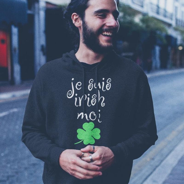 I am Irish sweatshirt - Limited edition - Men's Sweatshirt from Ainsi Hardi Paris France