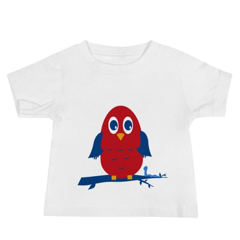 Little Owl Children's T-shirt - Children's T-Shirt from Ainsi Hardi Paris France