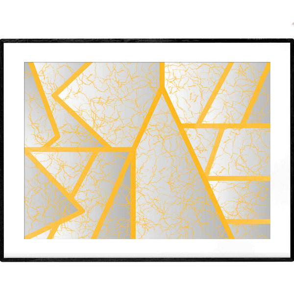 Gold Spider silk | Art Print - Poster from Paris France