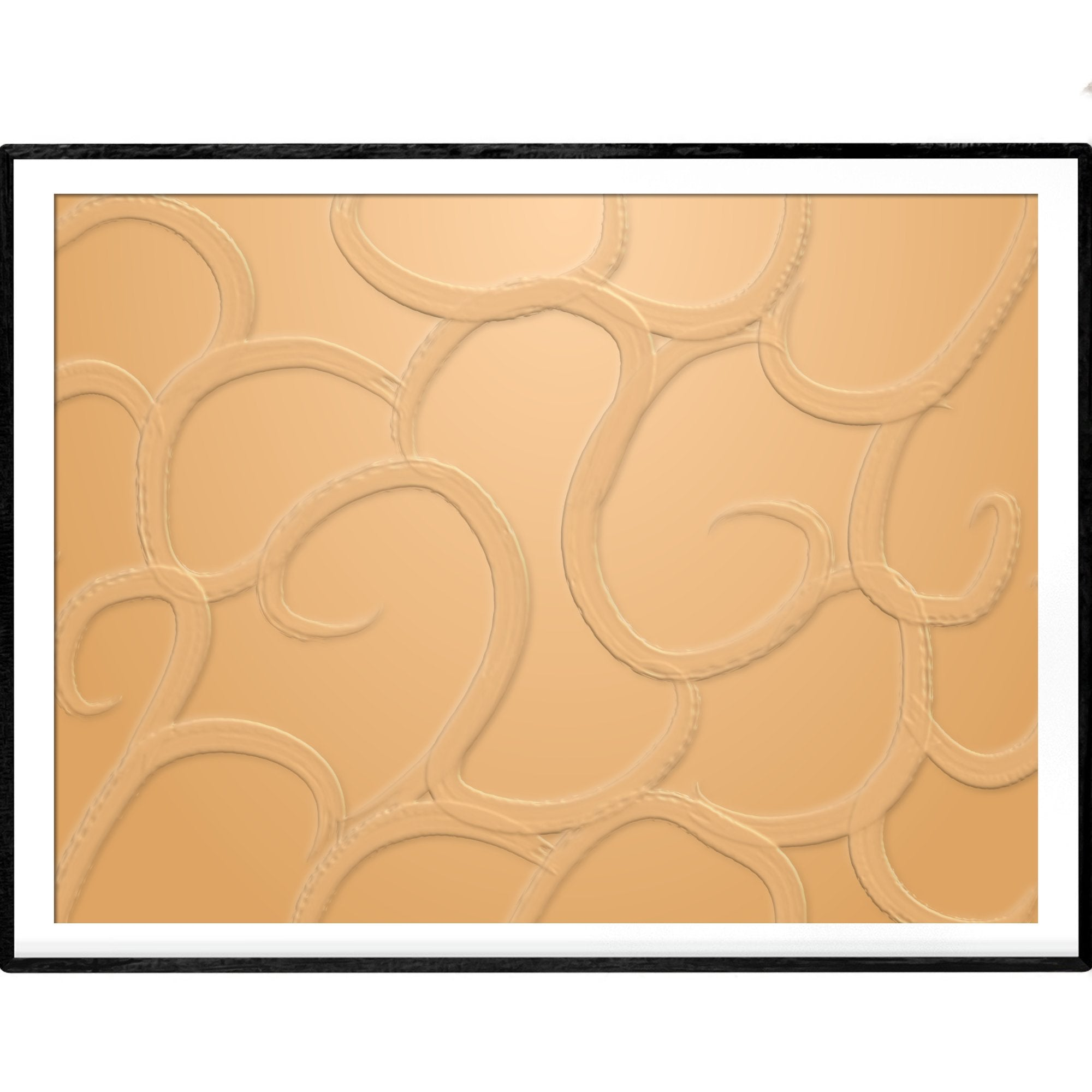 Monochromatic Tan | Art Poster - Poster from Paris France