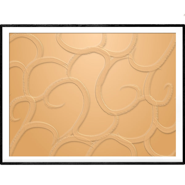 Monochromatic Tan | Abstract Giclée Print - Poster from Ainsi Hardi Paris France