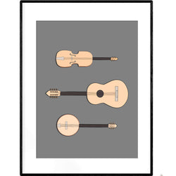 String Orchestra | Art Print - Poster from Ainsi Hardi Paris France