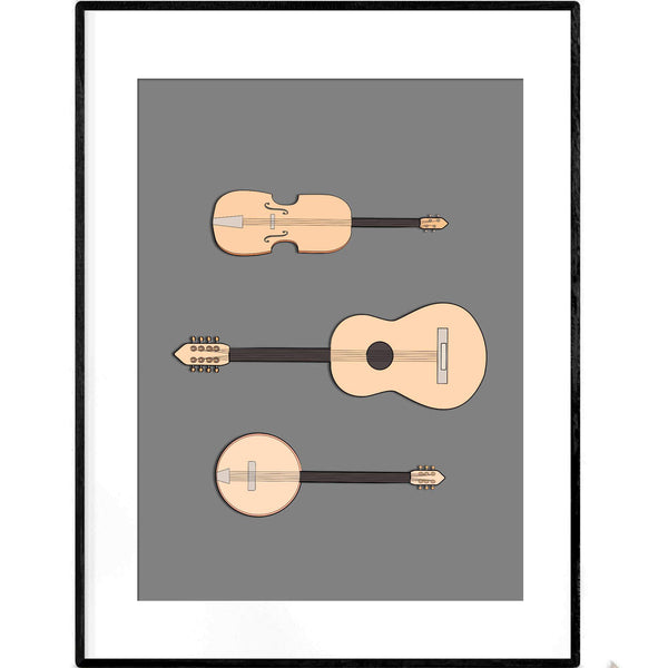 String Orchestra | Art Print - Poster from Paris France