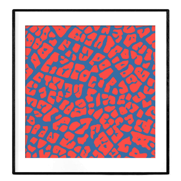 Abstract Maze | Path to Self | Art Print - Poster from Paris France