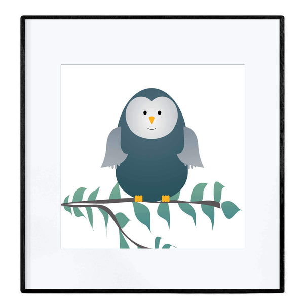 Little Owl | Art Poster - Poster from Paris France
