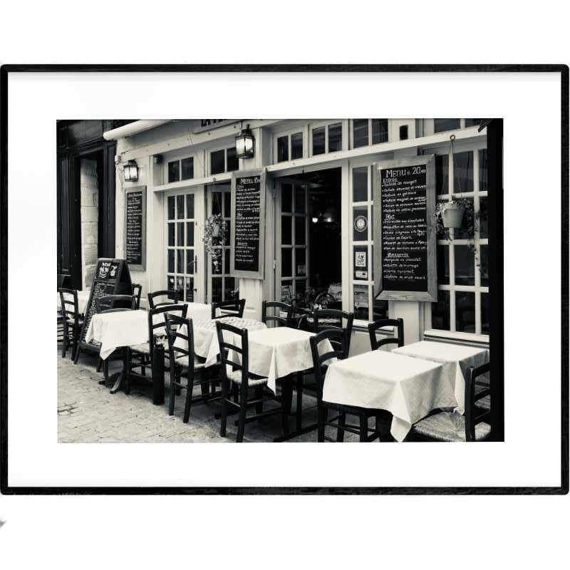 French Brasserie | Photography Print - Poster from Ainsi Hardi Paris France