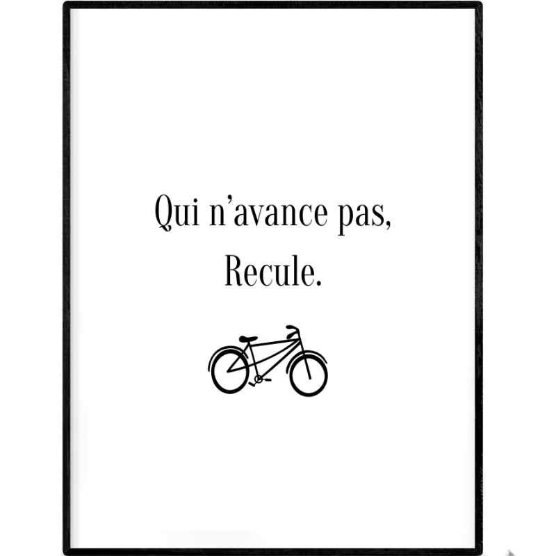 Going backwards | Printable Poster - Poster from Ainsi Hardi Paris France