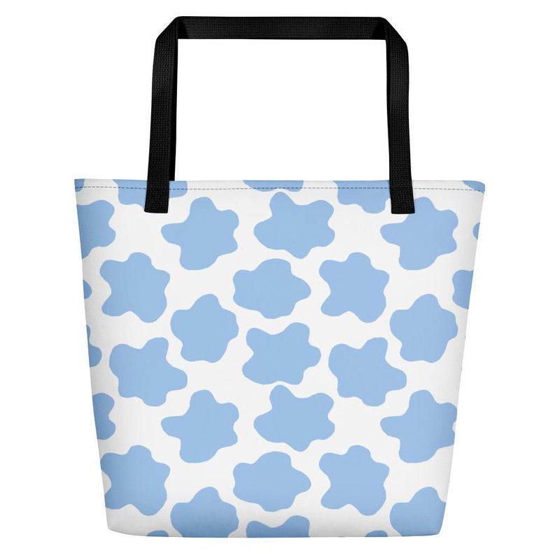 Life is Beautiful Blue Tote bag - Tote bag from Ainsi Hardi Paris France