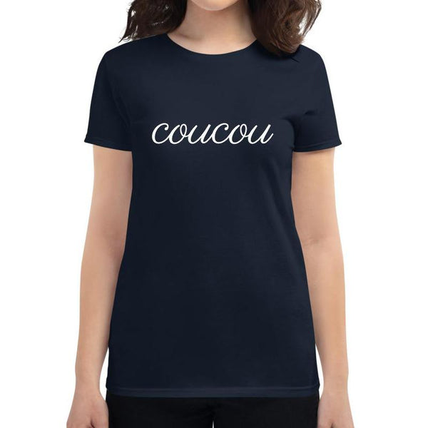 Coucou | Women's short sleeve t-shirt - Women's T-shirt from Ainsi Hardi Paris France