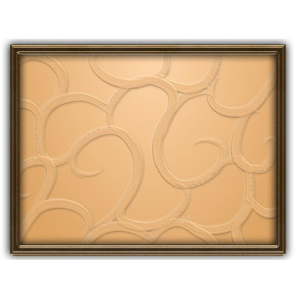 Monochromatic Tan | Abstract Art Poster