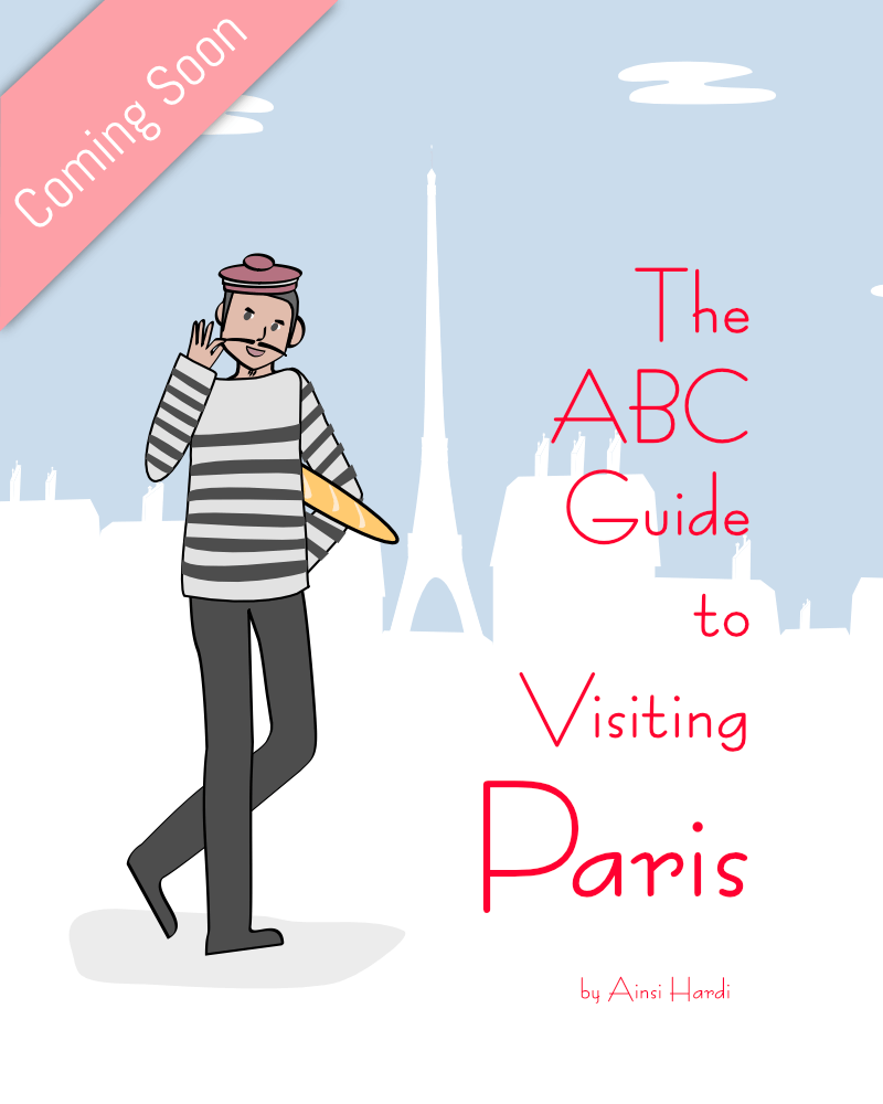 The ABC Guide to Visiting Paris - Printable from Ainsi Hardi Paris France
