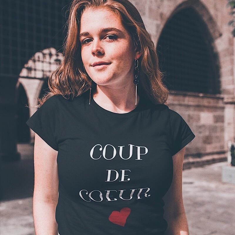 Coup de Coeur T-Shirt - Classic Fit - Women's T-shirt from Ainsi Hardi Paris France