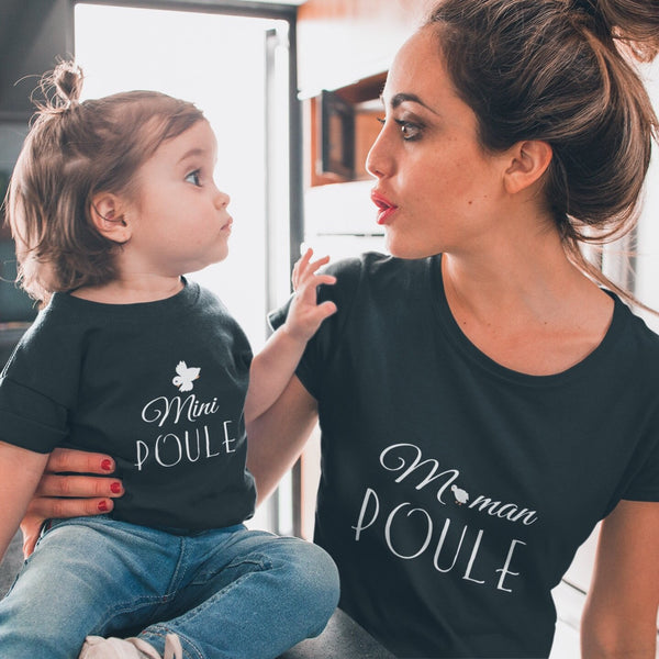 Maman Poule Classic fit T-shirt - Women's T-shirt from Ainsi Hardi Paris France