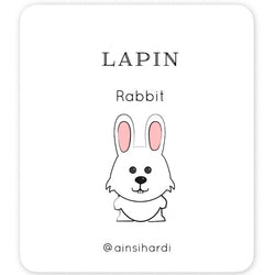 Easter - FREE French | English Flashcards - Printable from Ainsi Hardi Paris France