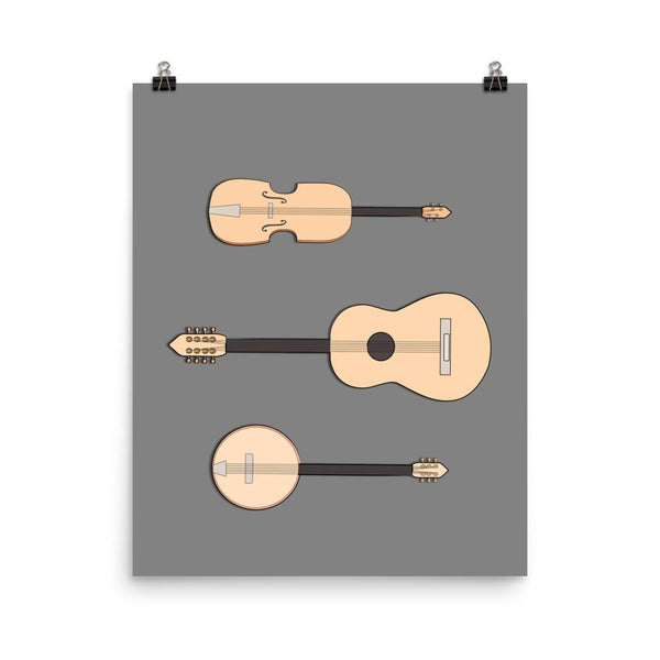 String Orchestra | Giclée Print - Poster from Ainsi Hardi Paris France