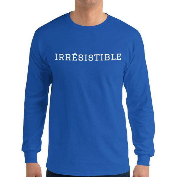 Irrésistible Long Sleeve T-Shirt - Men's Long Sleeve T-Shirt from Paris France