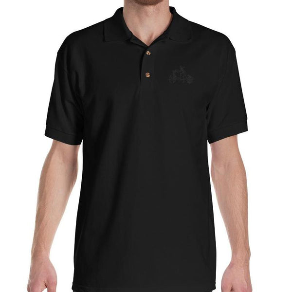 Embroidered Polo Shirt - Men's T-Shirt from Paris France