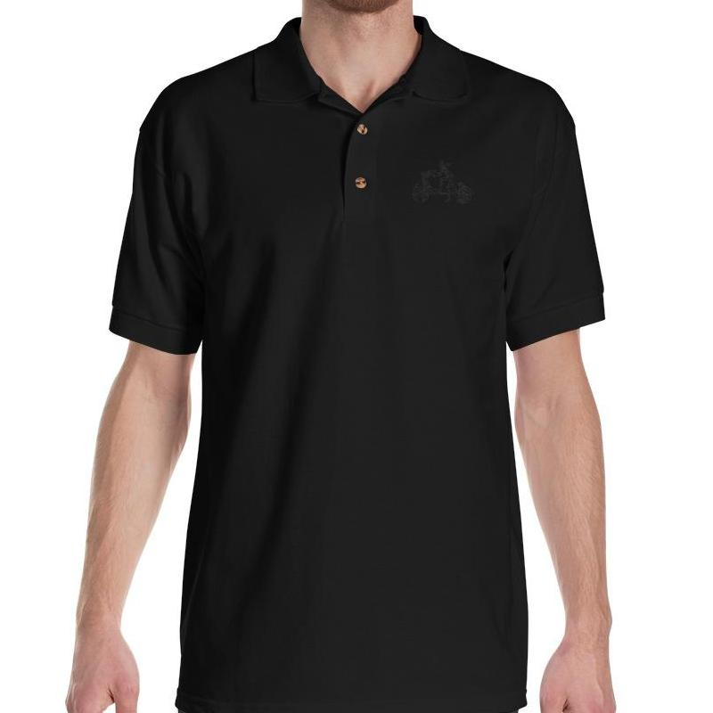 Embroidered Polo Shirt - Men's T-Shirt from Ainsi Hardi Paris France