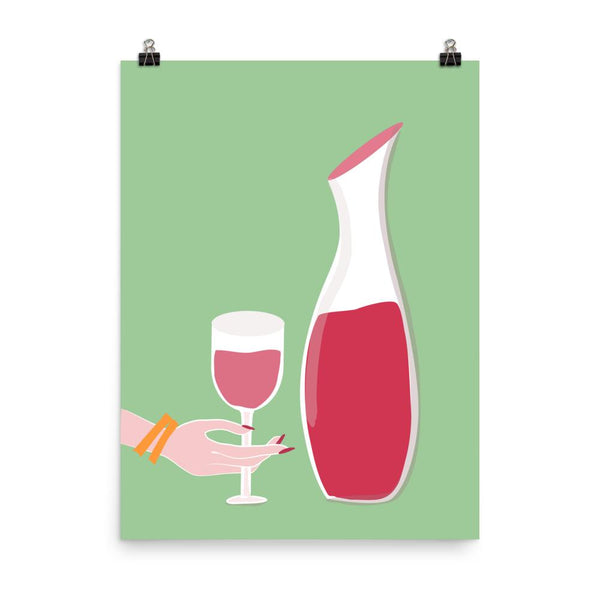 Wine Time | Art Print