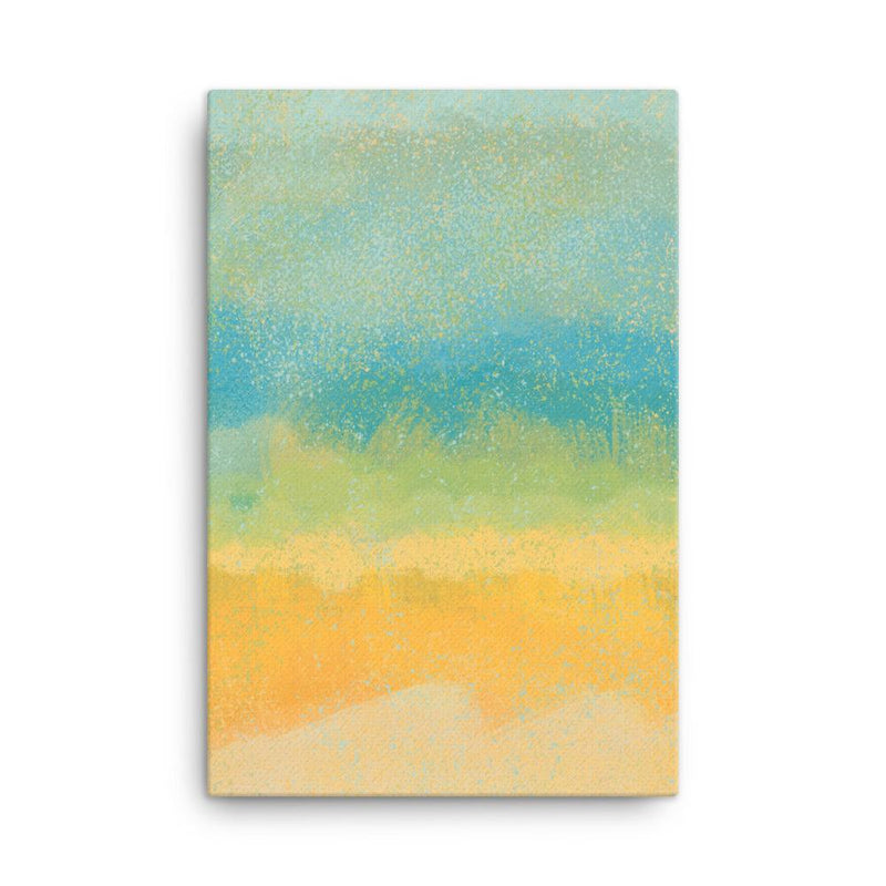 Field of Dreams | Abstract Canvas Print - Canvas from Ainsi Hardi Paris France