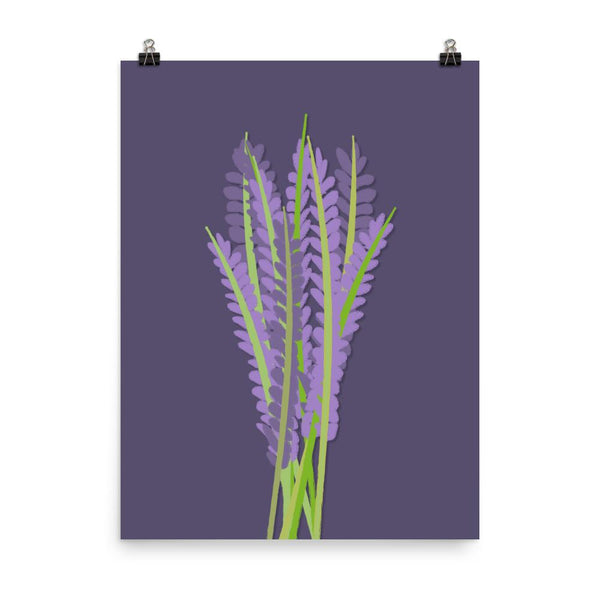 A Sprig of Lavender | Art Poster - Poster from Ainsi Hardi Paris France