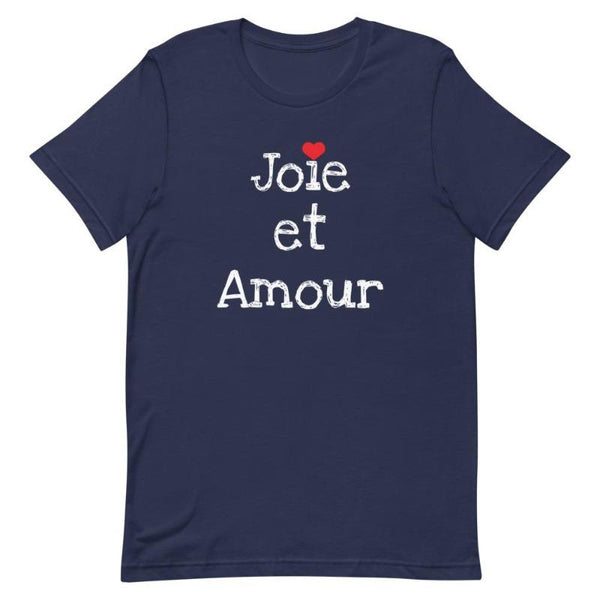 Joie et Amour | Women's T-Shirt - Women's T-shirt from Ainsi Hardi Paris France