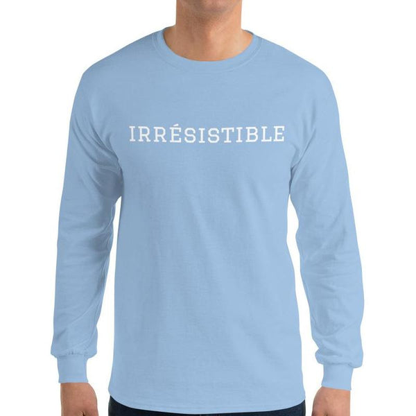 Irrésistible Long Sleeve T-Shirt - Men's Long Sleeve T-Shirt from Ainsi Hardi Paris France