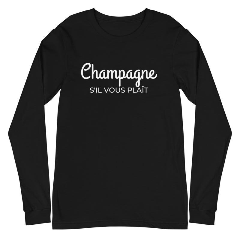 Champagne | Long Sleeve T-Shirt
