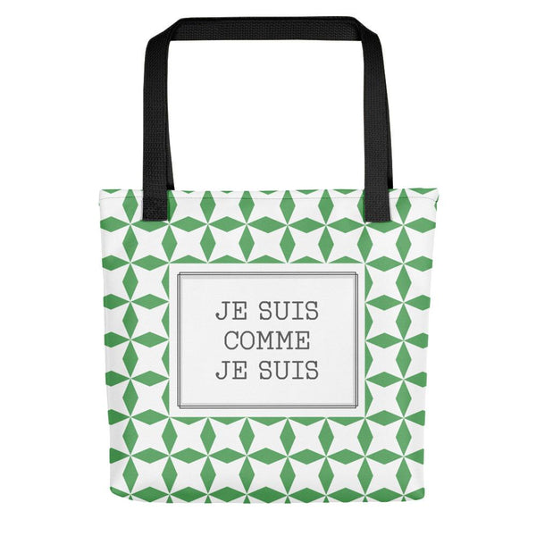 I am who I am Tote Bag - Tote bag from Ainsi Hardi Paris France