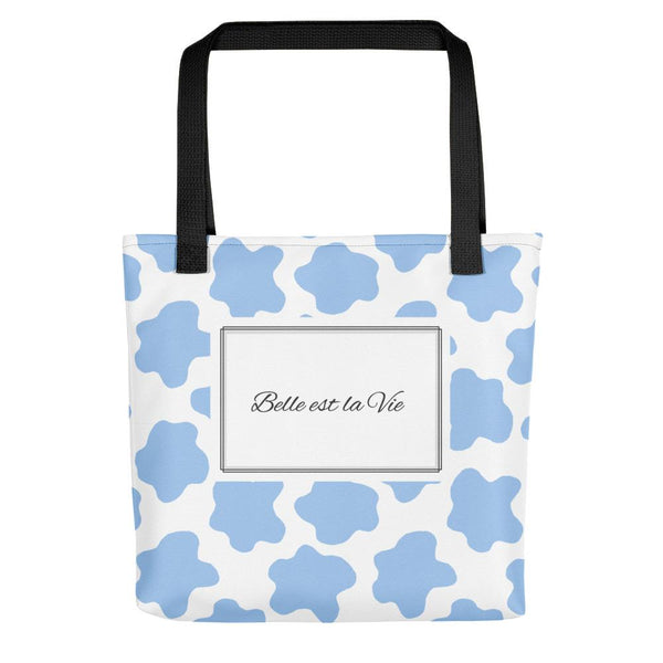Life is Beautiful | Blue Tote bag - Tote bag from Ainsi Hardi Paris France