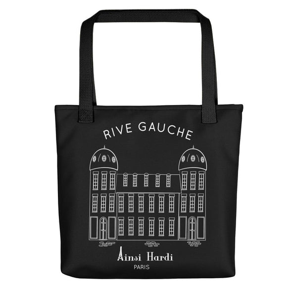 Paris Rive Gauche Black Tote bag - Tote bag from Paris France