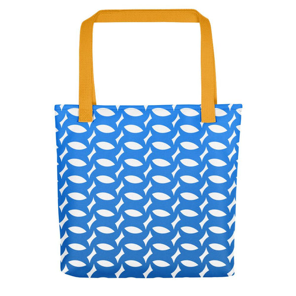 Montpellier Blue | Tote bag - Tote bag from Ainsi Hardi Paris France