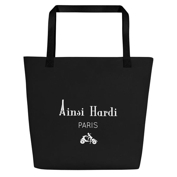 Parisian Black Tote bag - Tote bag from Paris France