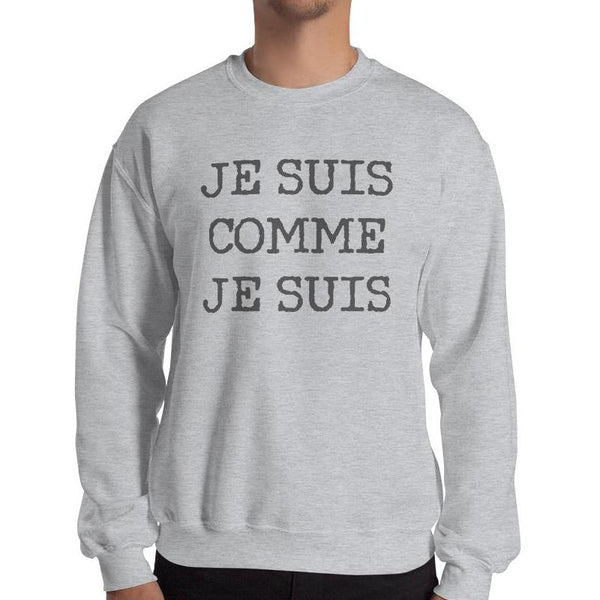 I am as I am Sweatshirt - Men's Sweatshirt from Paris France