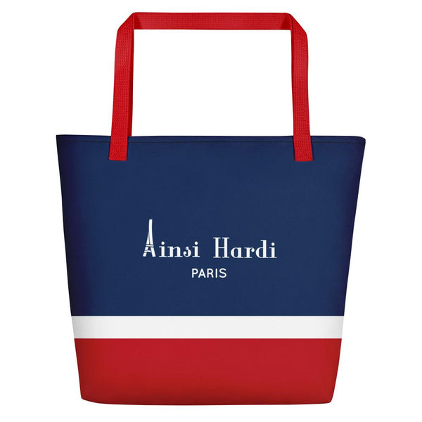Red, White, and Blue Tote bag - Tote bag from Paris France