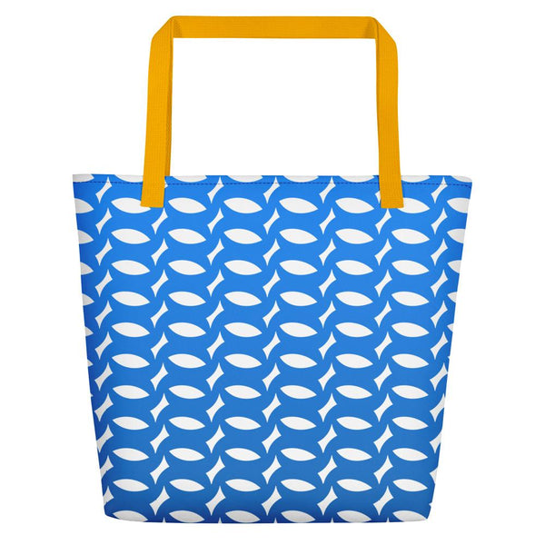 Montpellier Blue Tote bag - Tote bag from Ainsi Hardi Paris France